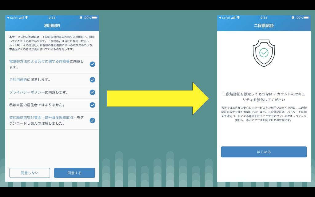 BitFlyer(ビットフライヤー)口座開設_新規アカウントの作成_6